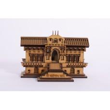 Badrinath - 3D Wooden Replica